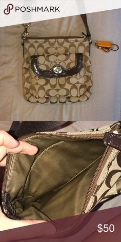 Coach Cross body purse Small coach cross body purse. Used only 1-2 times and in perfect condition! Coach Bags Crossbody Bags