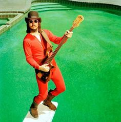 """Les Claypool the incredible. Listen to his wild, eccentric bass-playing style on the track, """"Tommy The Cat."""""""