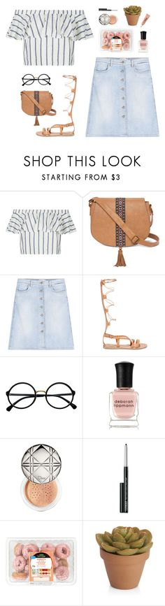 """""""""""There's no such thing as coincidence. Notice how every major event in your life somehow leads up to the next... it's all connected."""" -unknown"""" by are-you-with-me ❤ liked on Polyvore featuring Topshop, T-shirt & Jeans, Closed, Ancient Greek Sandals, Retrò, Deborah Lippmann, Christian Dior, Clinique, CO and Crate and Barrel"""