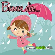 Buenos días lluvioso