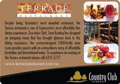 Terrace Restaurant, Country Club Tasmania, Launceston