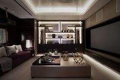Just the right size TV ! Knightsbridge House | Howes & Rigby
