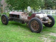 American LaFrance Type 14-6 Short Chassis Fire Truck Custom Speedster - 1921 - Picture 09L2G240618852AD
