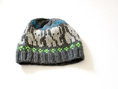 Elephant Park: A colorwork hat depicting little elephants. Knitted with worsted yarn, this unisex hat is perfect for the animal lovers! Elephant Hat, Little Elephant, Knitting Patterns Free, Baby Knitting, Knitting Ideas, Knitted Hats, Crochet Hats, Yarn Store, Knit Picks