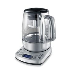 Breville® One-Touch 51-Ounce Electric Tea Kettle - BedBathandBeyond.com It's $250 but I need this!!