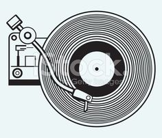 Turntable Illustrations & Vector Images - iStock