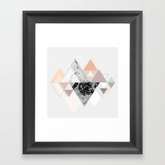 abstract, graphic, shape, triangle...