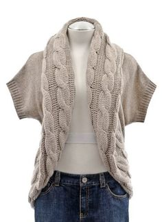 women's winter outwear short sleeve cardigan wool cashmere loose ...