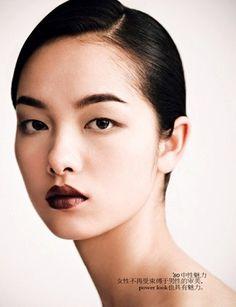Sun Fei Fei / subtly gorgeous makeup