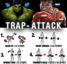 Trap-Attack-Training ! Healthy Fitness Workout Plan - Yeah We Train !