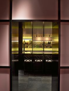 La Villa restaurant/bar/lounge - designed by Gilles & Boissier. Featured in the November 2012 issue of D PAGES. Photo courtesy of Gilles & Boissier.