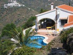 Lovely cottage with pool and views over the sea on the Costa del SolHoliday Rental in Sayalonga from @HomeAway UK #holiday #rental #travel #homeaway