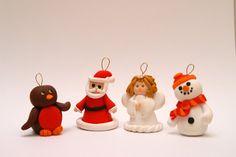 Lynne's blog: Fimo Christmas Tree Decorations
