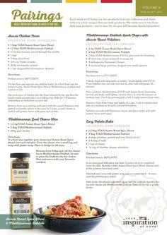 Recipe Pairing featuring YIAH Aussie Roast Spice Blend and YIAH Mediterranean Dukkah #yiah #spiceblends #dukkah Aussie Chicken Parm | Mediterranean Goat Cheese Slice | Mediterranean Dukkah Lamb Chops | Easy Potato Bake