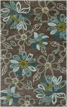 RugStudio presents Jaipur Rugs Brio Daisy Chain Br04 Taupe Gray Hand-Tufted, Better Quality Area Rug