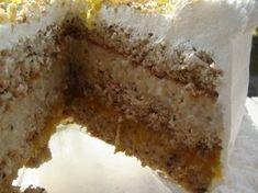 Bolo de nozes com geleia de damasco Other Recipes, Sweet Recipes, Cake Recipes, Cupcakes, Cupcake Cakes, Portuguese Recipes, Cake Boss, Sweet Bread, Caramel Apples