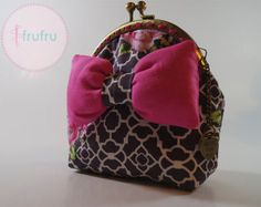 Coin purse / Clasp purse / Fabric purse / Frame purse / Bow purse -    Edit Listing  - Etsy