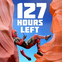 """Less than 127 hours to go until #Deadpool! Link in bio."""