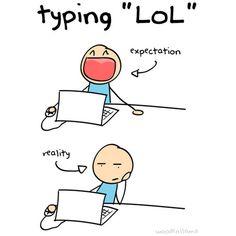 funny expectations vs reality LOL comic