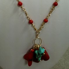 Coral hand wire chain