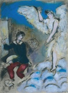 Marc Chagall 'The Vision', 1924–5–c.1937 © ADAGP, Paris and DACS, London 2015