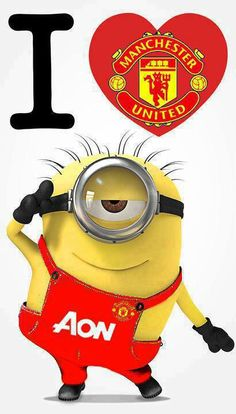 Manchester United Minion Fan... <3