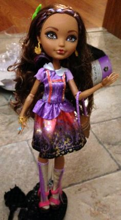 Cedar Wood Ever After High doll review  http://shadowbinders.com/cedar-wood-ever-after-high-review/