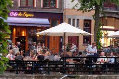 Café De Sigaar. Hoge der A, Groningen. The Netherlands.