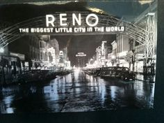 The iconic Reno Arch