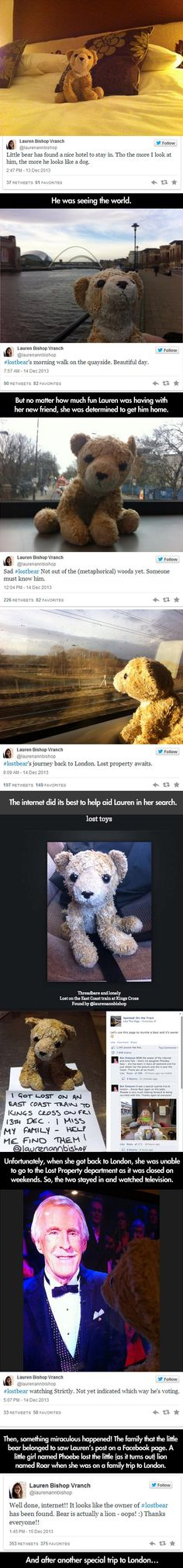 Little girl loses her stuffed animal, then the Internet does something awesome… PART 2