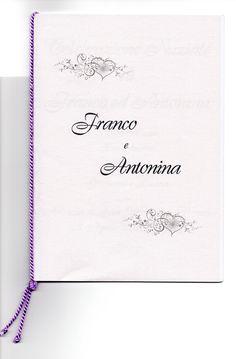 copertina libretto messa matrimonio da