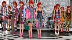 More from the Romance was Born label which premiered this brilliant Marvel Comics inspired fashion in Sydney today.