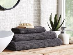 A stylish range for the modern bathroom, our Wythe Waffle White towels are a simple classic that will last for years to come. Highly absorbent, these towels are made from the finest combed cotton, and are finished with a timeless, waffle texture.