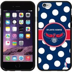 Atlanta Hawks Polka Dots Design on Apple iPhone 6 Switchback Case by Coveroo