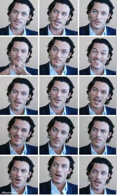 Luke Evans is so adorable