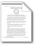 Why the Sun Lives in the Sky (A Pourquoi tale). Download it at Examville.com - The Education Marketplace. #scholastic #kidsbooks @Karen Echols #teachers #teaching #elementaryschools #teachercreated #ebooks #books #education #classrooms #commoncore #examville