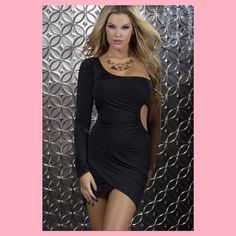 FINAL PRICE Black cut out dress As shown! No modeling trading or additional pictures !  Dresses
