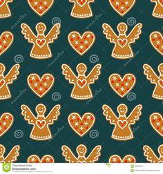 seamless-pattern-christmas-gingerbread-cookies-angels-sweet-hearts-winter-holiday-vector-design-illustration-dark-59949544.jpg (1300×1390)