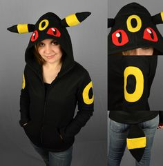 Note: I am CLOSED FOR COMMISSIONS with no plan to re-open them, thanks for understanding! This hoodie has long since been sold. Another Pokemon hoodie, this time the ever popular Lucario. This one ...