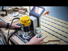 This is super cool: a handheld CNC router that uses computer vision to let you see exactly what you're cutting through the bit, and compensates for any shaky...
