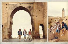 Mit Camel Active auf Roadtrip - in Fés Marocco - jetzt die passenden Outfits dazu im aktuellen HIRMER Prospekt.