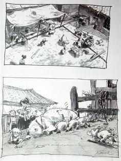 more Mulan - Regis Loisel