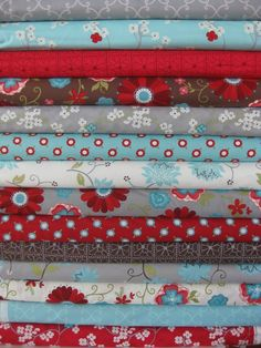 Heather Mulder Peterson, Seaside Cottage, Entire Collection in FAT QUARTERS 14 Total