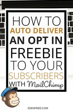 Are you on the free version of mailchimp? Learn how to auto deliver an opt in freebie to your audience so that you can grow your email list!