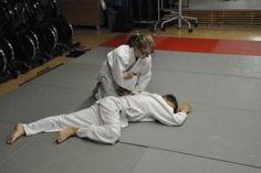 Aikido-Kyuprüfungen 10.12.2014 Walding: Sankyo Fixierung