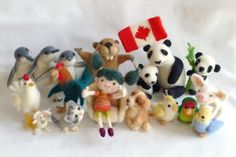 The Fuzzy Farm: Featured Artist Series: Needle Felted Crafts by Wi...