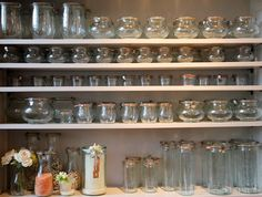 One day, I will have an open pantry full of gorgeous Weck jars filled with bright, colorful preserves, juices, sauces, and pickles--jewel-like artwork to nourish the soul and body. The Weck site has a wide array of jars and bottles, as well as all requisite canning supplies.