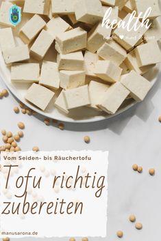 Was ist der Unterschied zwischen dem verschiedenen Tofu-Sorten, wofür verwendet man welchen Tofu und wie wird er richtig zubereitet? Alles Infos im Beitrag. #tofu #soja #seidentofu #räuchertofu #tofunatur #vegan #vegetarisch #wfpb #protein #eiweiss