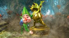 New Hyrule Warriors Majora's Mask DLC screenshot - Tingle statue special attack! #HyruleWarriors #WiiU