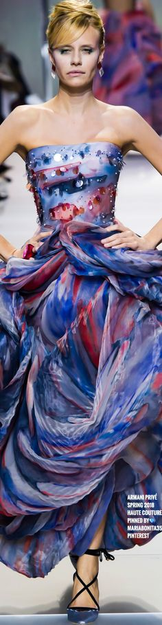 Armani Privé SS18 Haute Couture